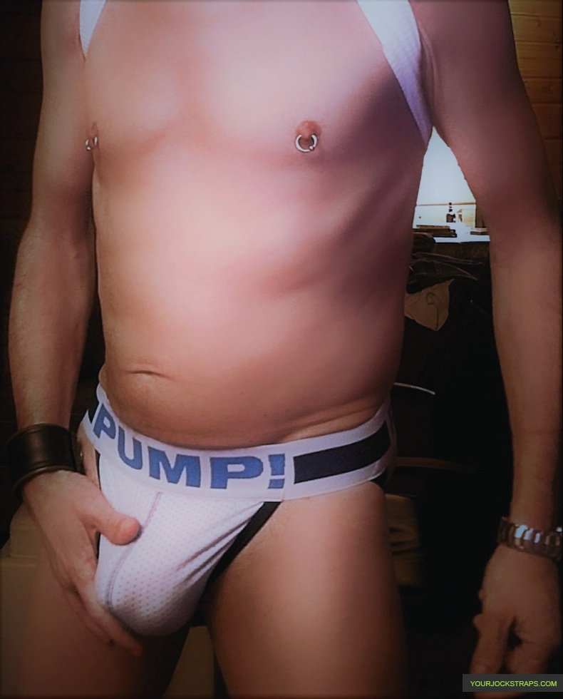 Pump True Blue Mesh Jockstrap